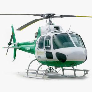 eurocopter 350 3d model