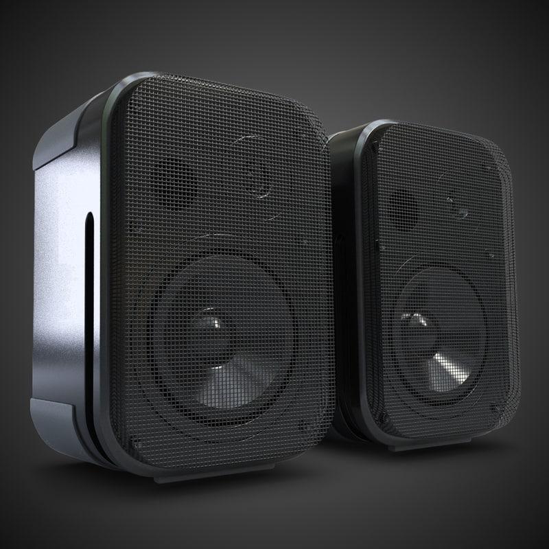 3d music speakers 5