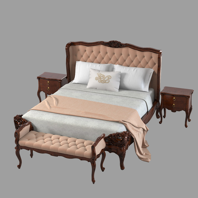 3ds max louis xv 15l 880 1 bedroom furniture. max louis xv 15l 880 1 bedroom furniture