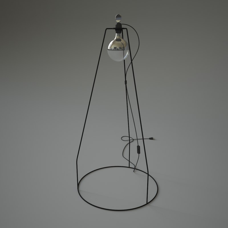 3d model lamp06 ligne roset