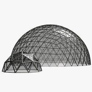 geodesic domes obj