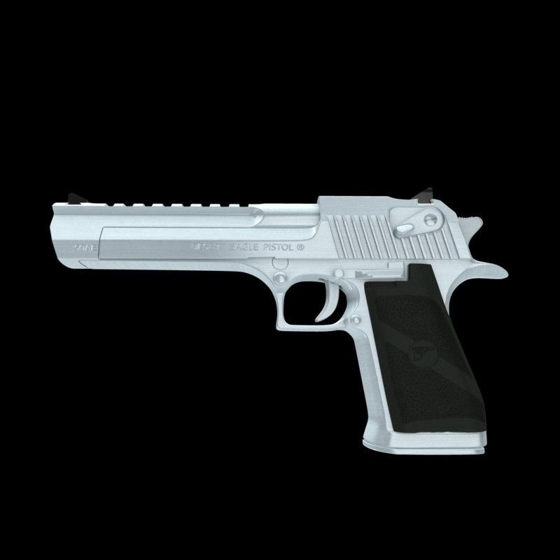 desert eagle pistol 3d ma