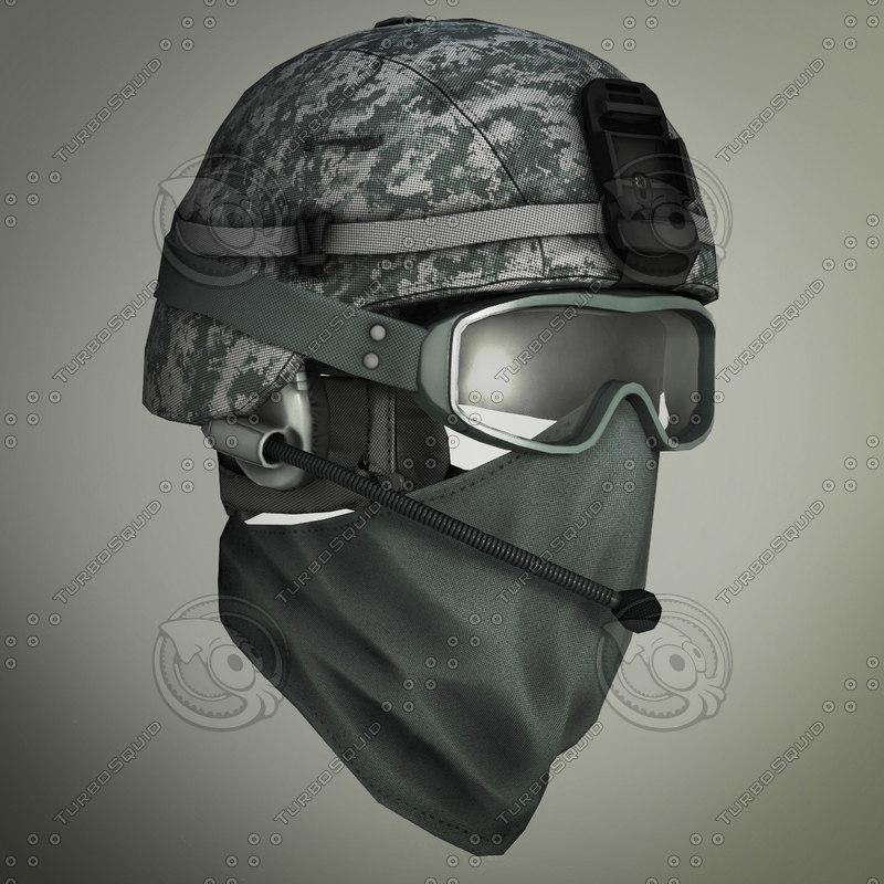 helmet soldier glasses max