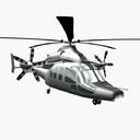 Eurocopter X3 3D models