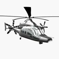 3dsmax eurocopter x3
