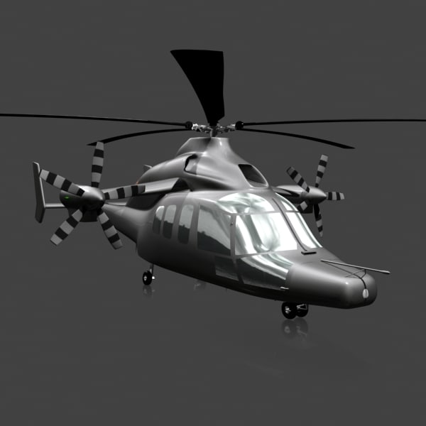 3dsmax eurocopter x3