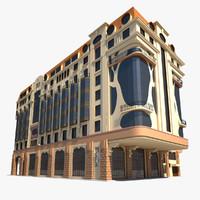 3d model marriott hotel