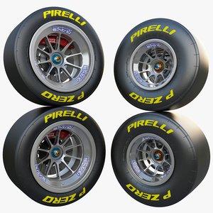 car f1 wheel rays 3d max