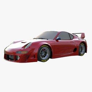 car sports 3d model