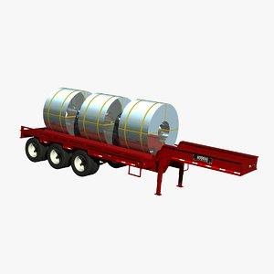 rogers fg65l coil trailer lwo