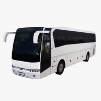 temsa safir 2012 bus 3d model