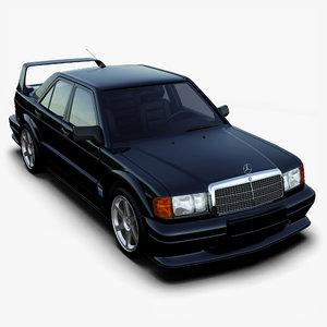 mercedes-benz 190e evolution ii 3ds