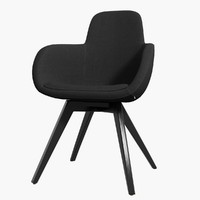 chair scoop tom dixon 3d 3ds
