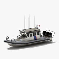 Interceptor Class 33 ft SAFE Boat