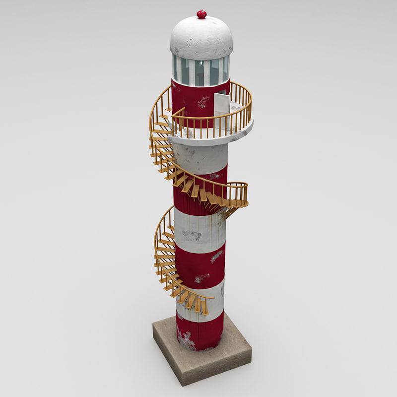 3d lighthouse 5 model