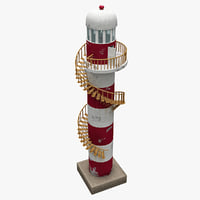 3d lighthouse 5 model