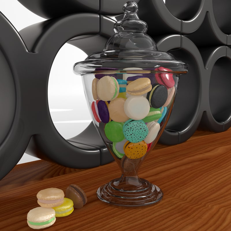 3ds max cakes bowl