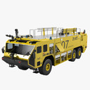 Oshkosh Airport Striker 3000 Truck Car Emergency ARFF Fire Fireman Equipment