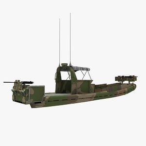 small riverine craft surc 3d max