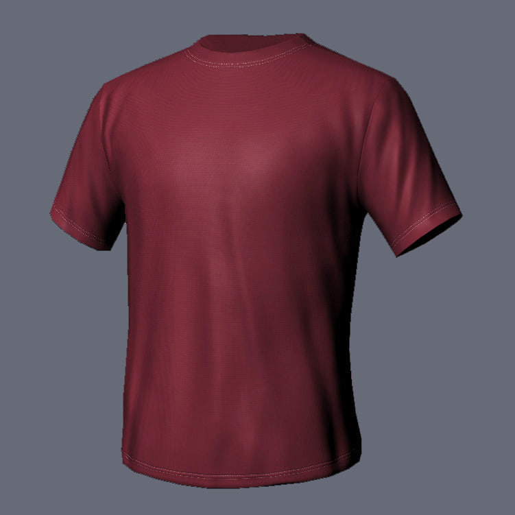 max t-shirt color