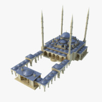 arab mosque 3d model