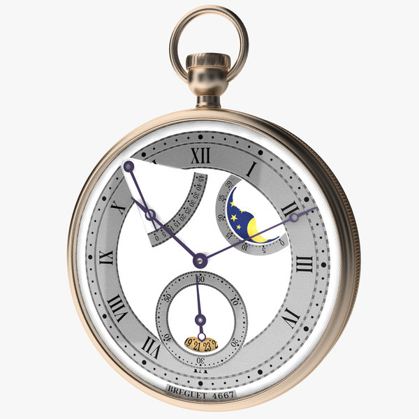 3d breguet stopwatch vol 4 model