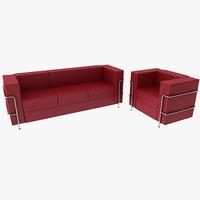 Modern Style Sofa and Armchair