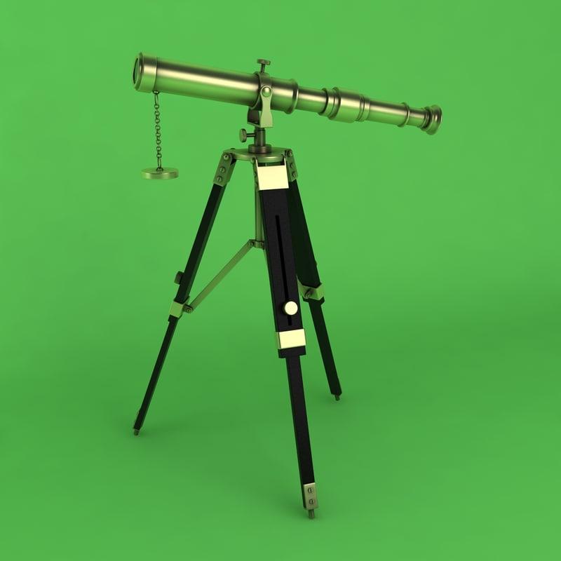 1 space 3d model