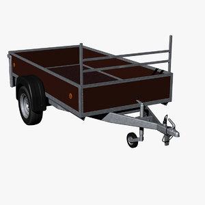 breakless car trailer hitch 3d 3ds