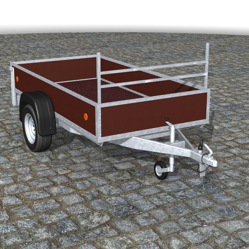breakless car trailer hitch 3d 3ds