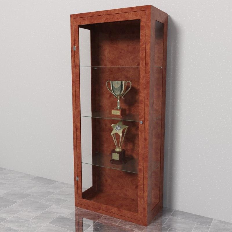 cabinet trophies obj