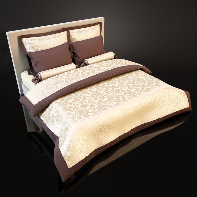 3d model of bedcloth bed cloth