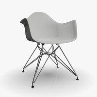 eames molded plastic 3d model
