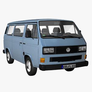 3d t3 bus facelift 1988