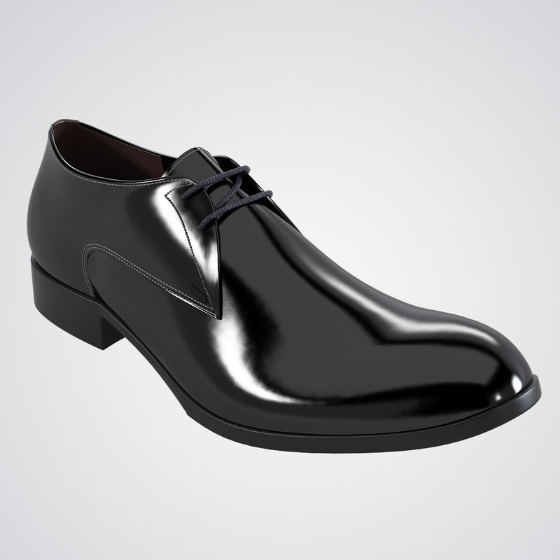 3d leather men shoes