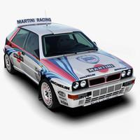 Lancia Delta Rally Car