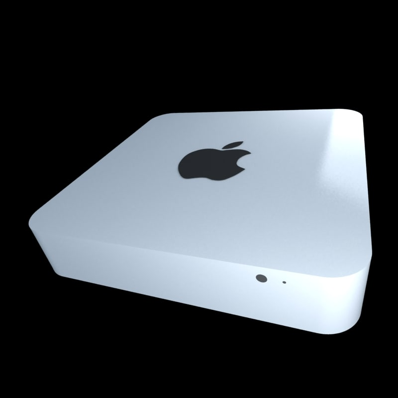 3d model mini modelled