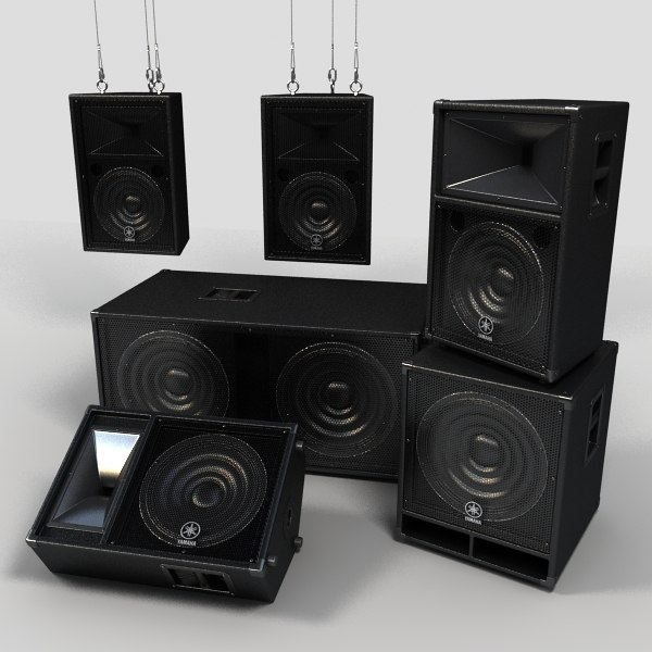 max concert speakers