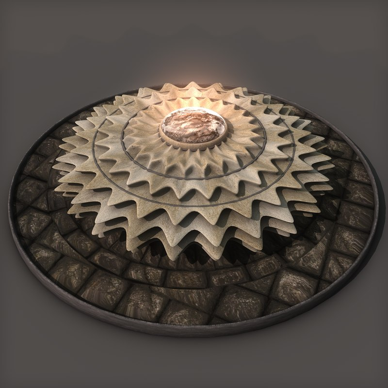 3ds max sun sculpture