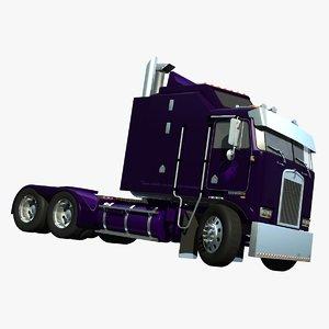 cabover truck decepticon 3d model