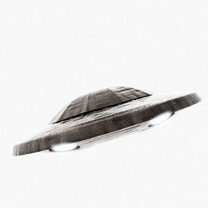 3d obj unidentified flying object