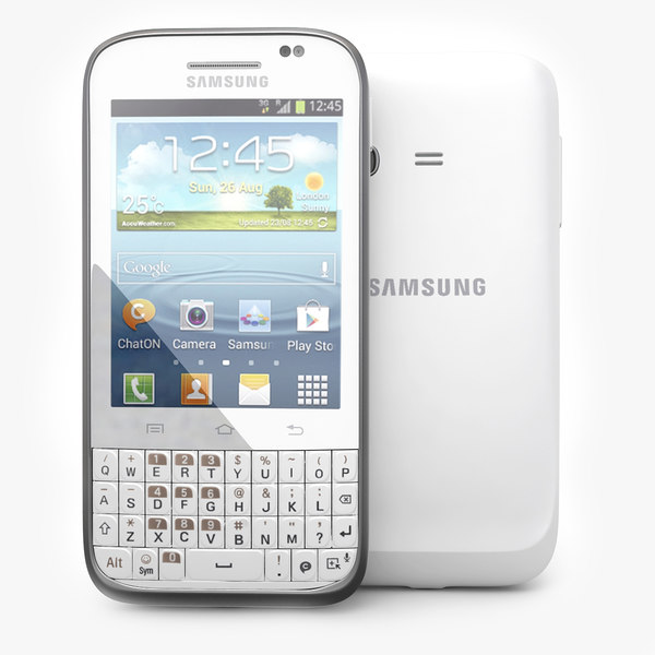 3d model samsung galaxy chat b5330