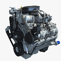 Duramax Diesel V8 Turbo Engine