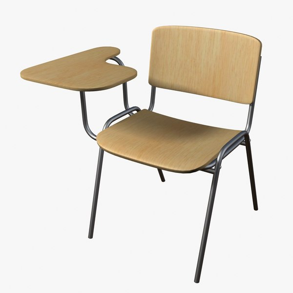 3ds max student chair