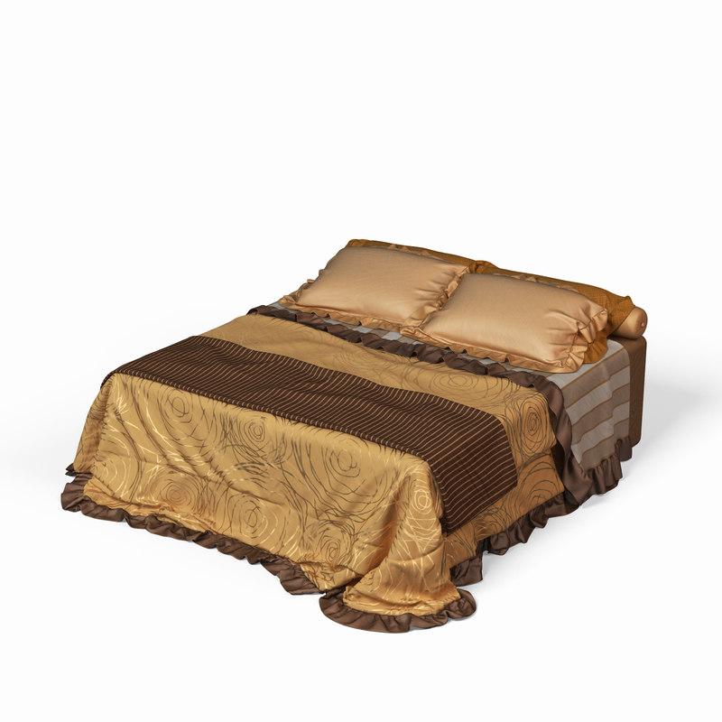 bedding 3d model
