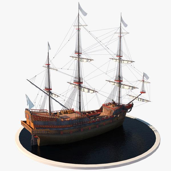 max elizabethan galleon