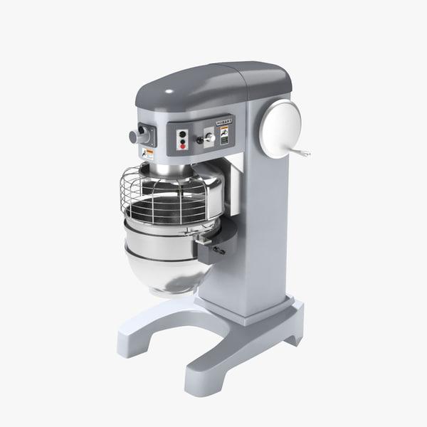 hobart industrial mixer 3d model