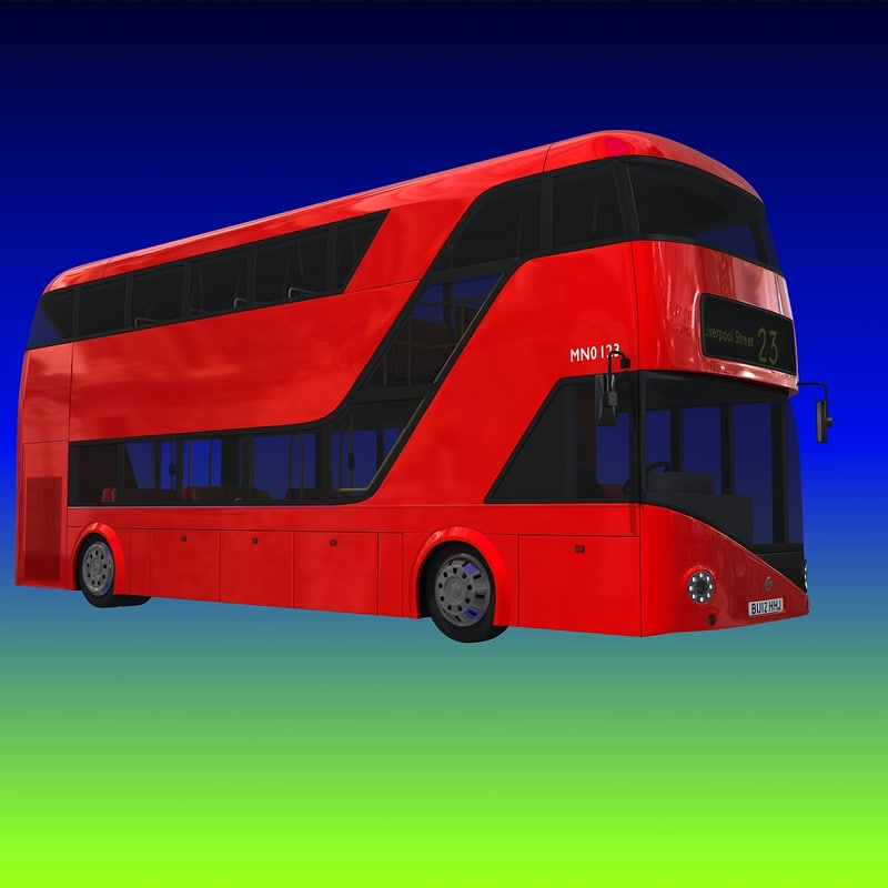 3ds new london double decker