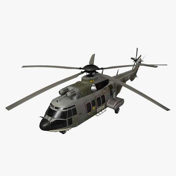 eurocopter super helicopter