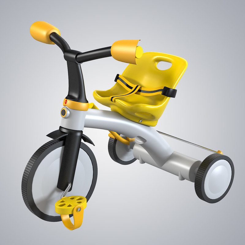 3d 3ds trike toy